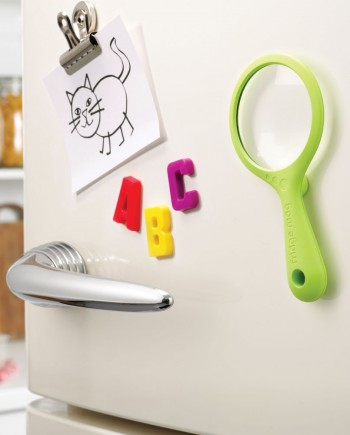 fridge magnifying glass