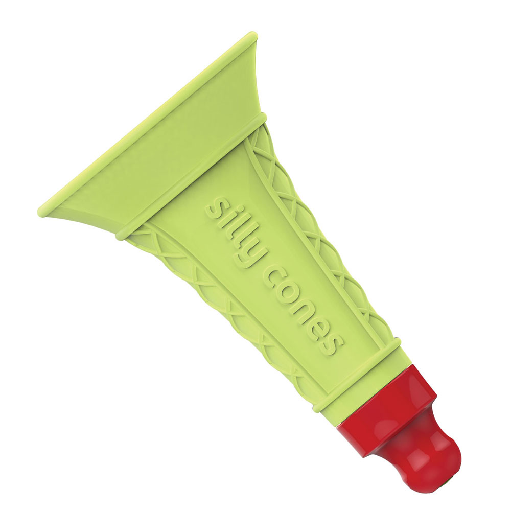 silly cone green